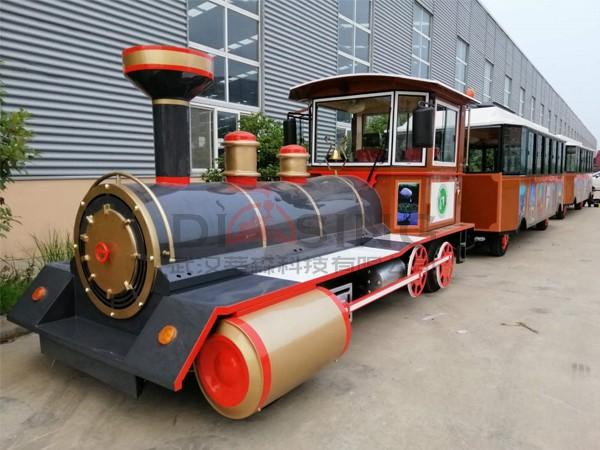DSW-D58FB封闭燃油观光小火车