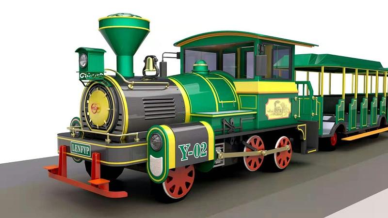 无极变速燃油观光列车