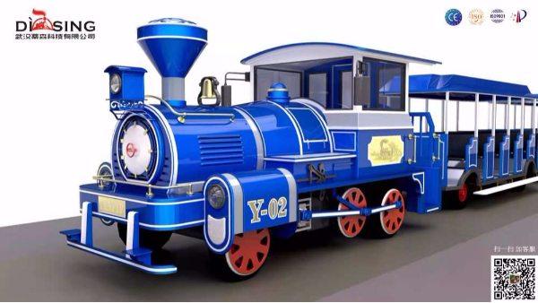 72座观光小火车