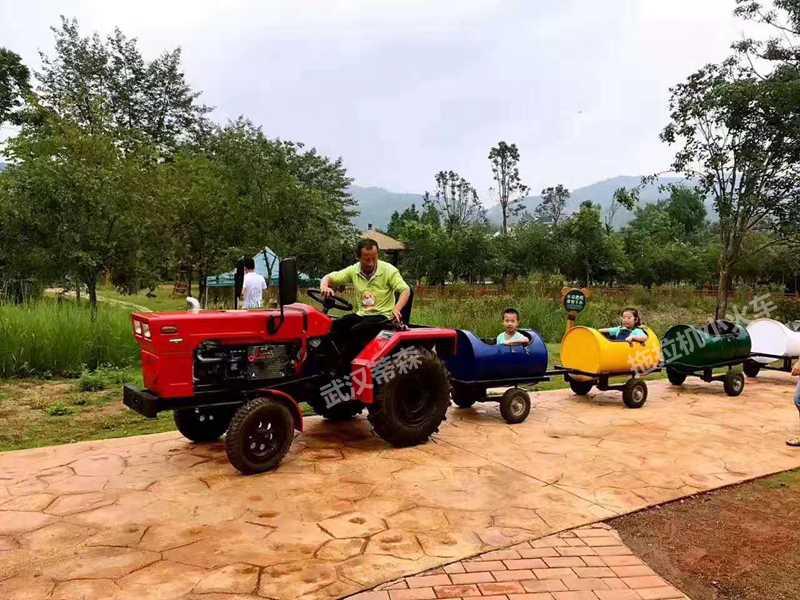 农业观光车拖拉机小火车
