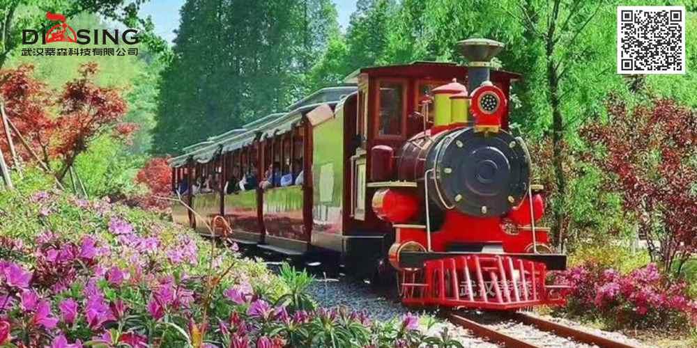 DST-6G-128座-轨道旅游观光小火车