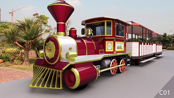无轨观光小火车