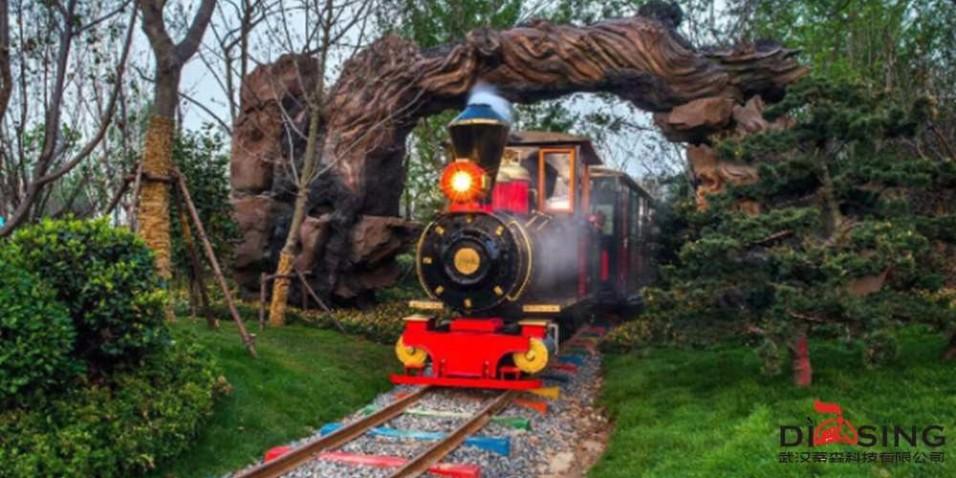 花海乐园观光小火车为什么大受欢迎,武汉蒂森独家解密