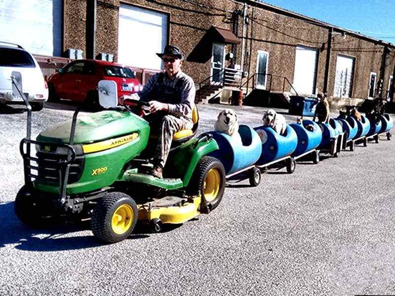 拖拉机小火车-农庄