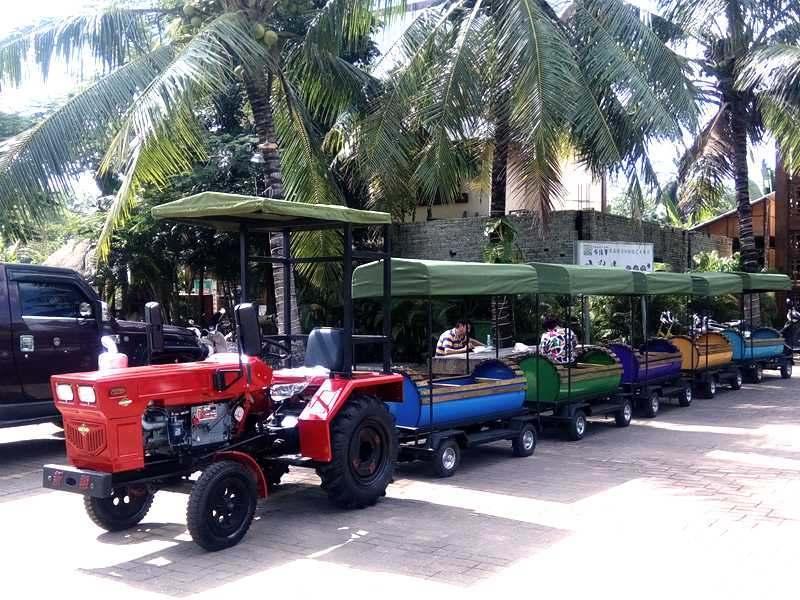 拖拉机小火车