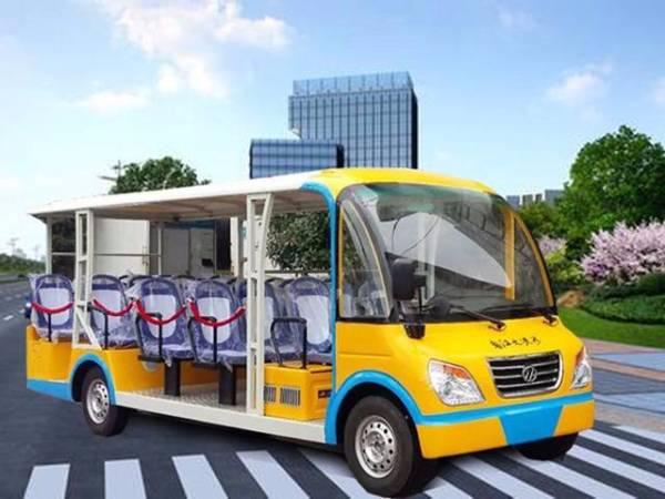 18座燃油观光车-景区公园汽油观光车