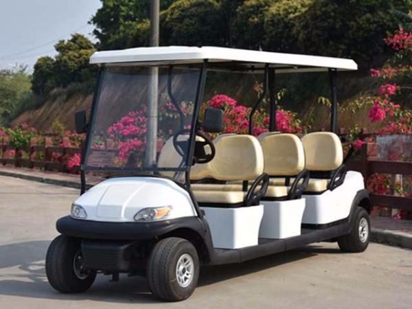 高尔夫观光车-景区公园酒店会所贵宾专用接待车