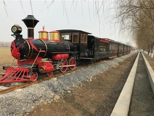 DST-G6-D96 96座轨道景区旅游观光小火车