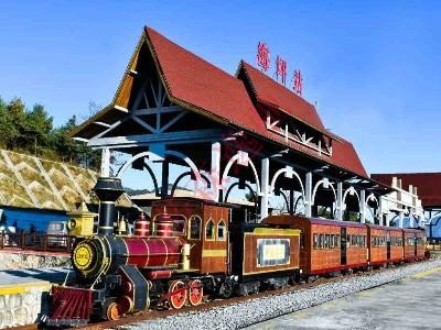 清明时分,踏青好时节,观光小火车很好的解决了景区交通
