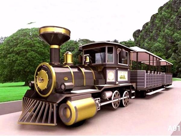 DSW-E42 42座轮式观光小火车