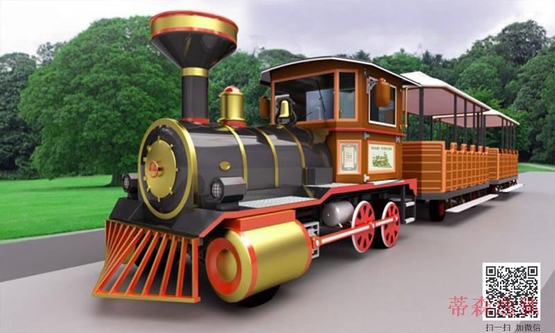 景点无轨观光小火车