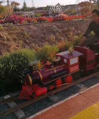 景区里的观光小火车