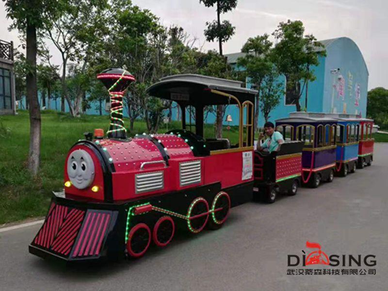 武汉花博汇游园观光小火车
