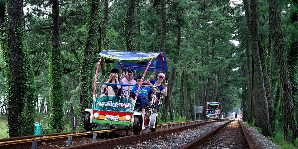 铁路自行车