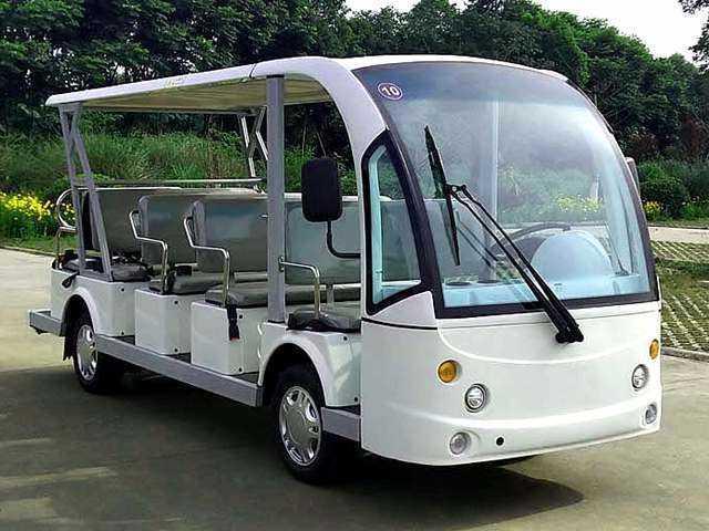 14座电动观光车-DS-JL6142
