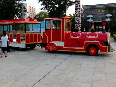 【安徽】创建5A景区在即,景区观光小火车热销兴茂旅游