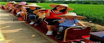 网红小火车车厢