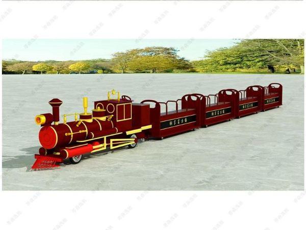坐骑式小火车