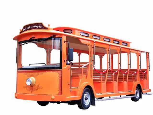 23座电动观光车-复古款