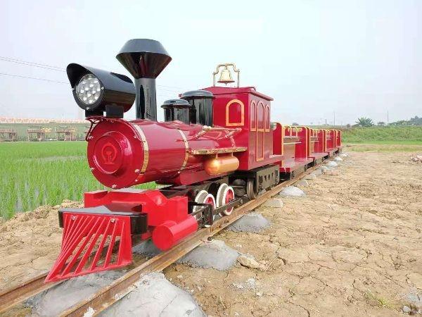 DST-G3-E16 16座稻田公园景区轨道小火车