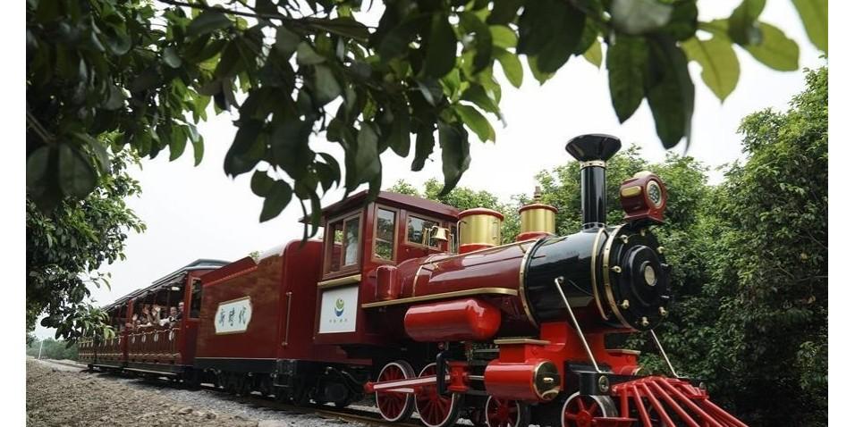 【农业观光】美丽乡村农业观光小火车串联起来