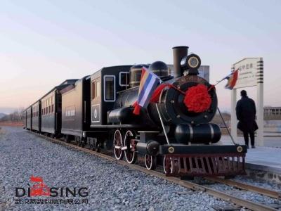 葫芦岛山庄复古观光小火车