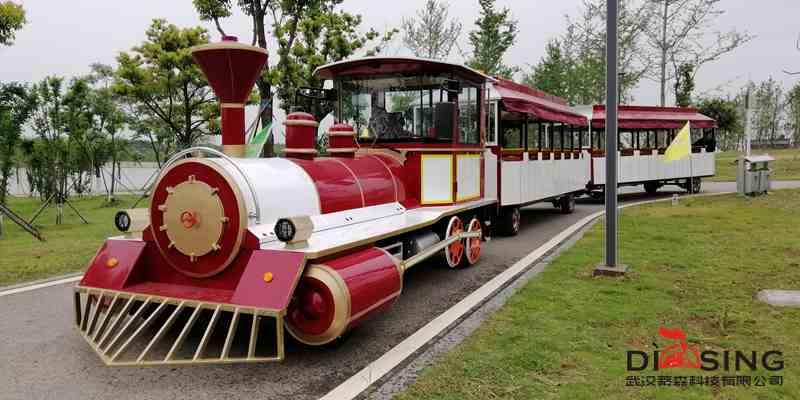 72座无轨观光小火车-DSW-72