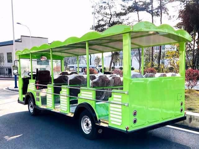 23座景区公园专用燃油观光车-柴油动力