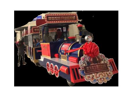 黑龙江——DSW-D58FB封闭燃油观光小火车
